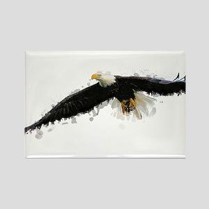 Watercolor Soaring Eagle Magnets