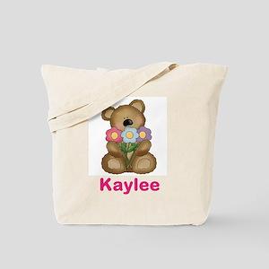 Kaylee's Bouquet Bear Tote Bag