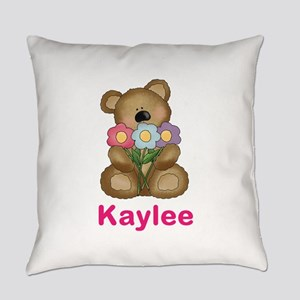 Kaylee's Bouquet Bear Everyday Pillow