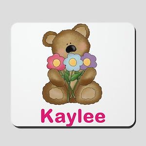 Kaylee's Bouquet Bear Mousepad