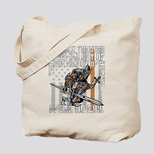 I Fear No Evil Deputy Sheriff Crusader Tote Bag
