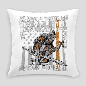 I Fear No Evil Deputy Sheriff Crus Everyday Pillow