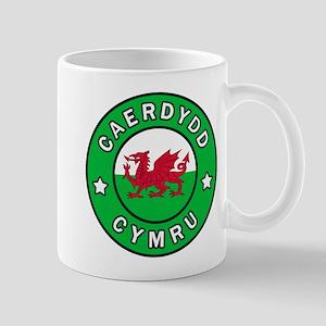 Caerdydd Cymru Mugs