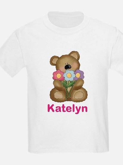 Katelyn's Bouquet Bear T-Shirt