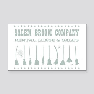 SALEM BROOM CO. Rectangle Car Magnet