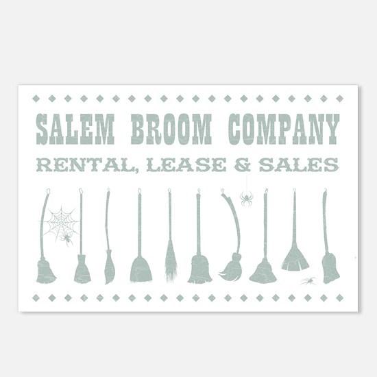 SALEM BROOM CO. Postcards (Package of 8)
