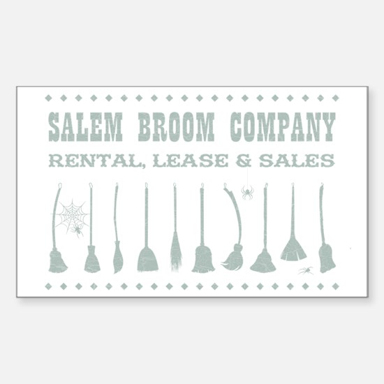 SALEM BROOM CO. Decal