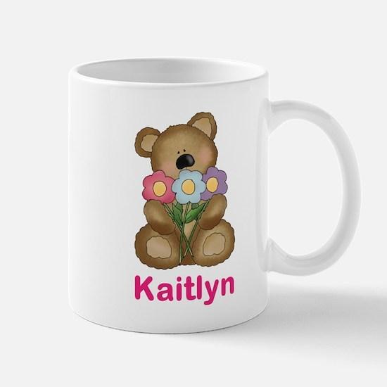 Kaitlyn's Bouquet Bear Mug