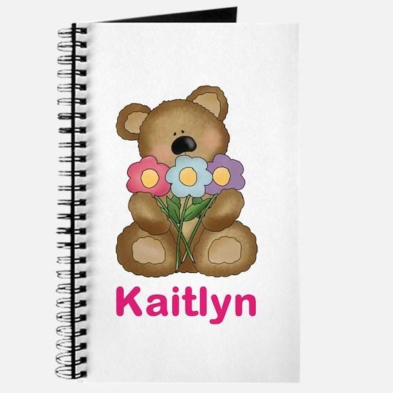 Kaitlyn's Bouquet Bear Journal