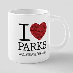 I Heart Parks Stainless Steel Travel Mugs