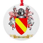Solans Round Ornament