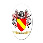 Solans 35x21 Oval Wall Decal