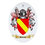 Solans Oval Ornament