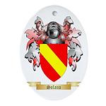 Solano Oval Ornament
