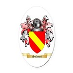 Solanes Oval Car Magnet