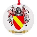 Solanas Round Ornament