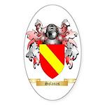 Solanas Sticker (Oval 50 pk)