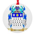 Solahan Round Ornament