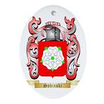 Sobinski Oval Ornament