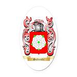 Sobieski Oval Car Magnet