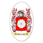 Sobieski Sticker (Oval 10 pk)