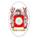 Sobieski Sticker (Oval 50 pk)