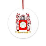 Sobieski Round Ornament