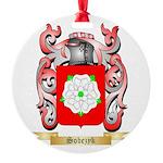 Sobezyk Round Ornament