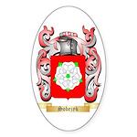 Sobezyk Sticker (Oval 10 pk)