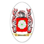 Sobanski Sticker (Oval)