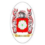 Sobanski Sticker (Oval 50 pk)