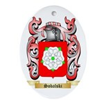Sobalski Oval Ornament