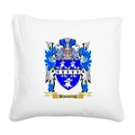 Snowling Square Canvas Pillow