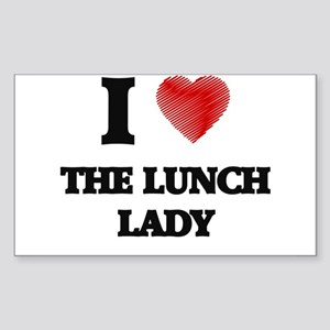I love The Lunch Lady Sticker