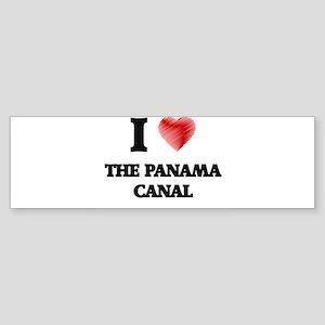 I love The Panama Canal Bumper Sticker