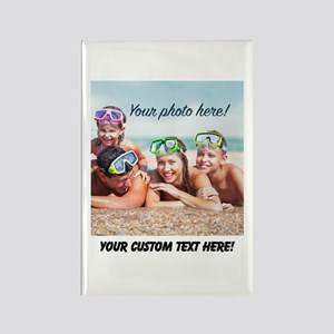Custom Photo And Text Magnets