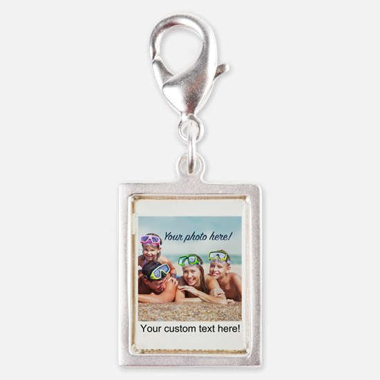 Custom Photo And Text Charms