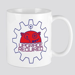 Upgrade Required: Red Head Mugs
