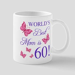 60th Birthday For Mom Mugs