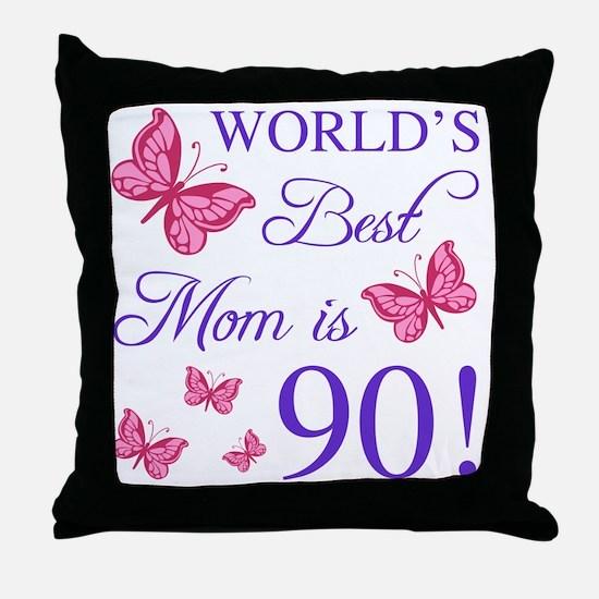 Cute Best mom Throw Pillow