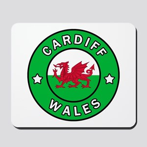 Cardiff Wales Mousepad