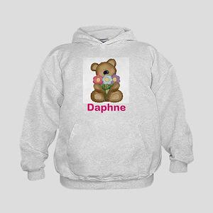 Daphne's Bouquet Bear Kids Hoodie