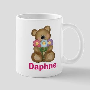 Daphne's Bouquet Bear Mug