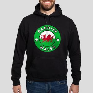 Cardiff Wales Hoodie (dark)