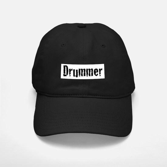 Drummer Text Baseball Hat