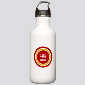 Red and Gold School Co Stainless Water Bottle 1.0L