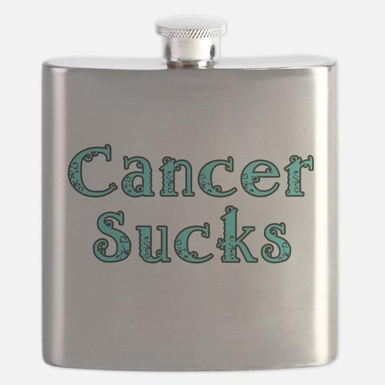 CANCER SUCKS Flask