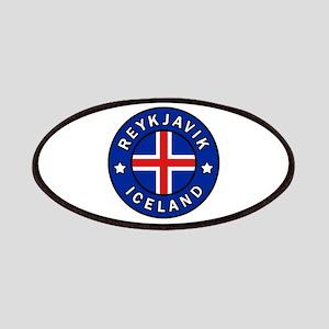 Reykjavik Iceland Patch