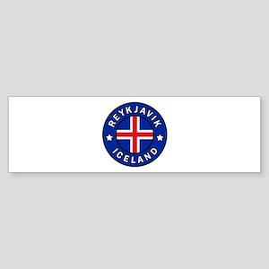 Reykjavik Iceland Bumper Sticker