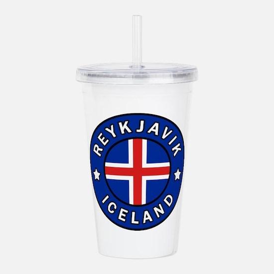 Reykjavik Iceland Acrylic Double-wall Tumbler